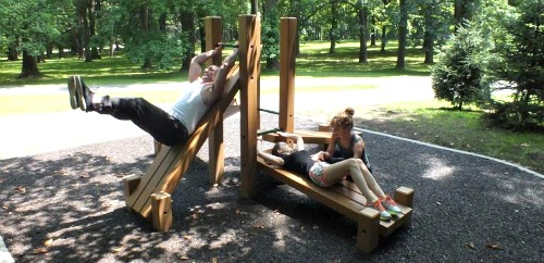 Brookdale Park Outdoor Fitness Course