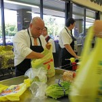 Bloomfield Mayor and Councilman Bag to Support Shoprite Partners in Caring Day