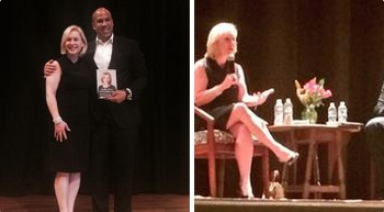 Senators Gillibrand and Booker Share Inspiration #OffTheSidelines in Montclair