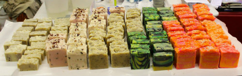 Soaps from Nature Island Botanicals.