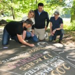Making Murals at Brookdale Park's Chalk Walk