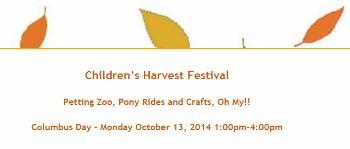 Kid-Friendly Fun At Glen Ridge Harvest Festival on Columbus Day