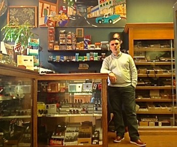 Frank Alberto, co-owner of  Fumé Cigar Shop and Lounge