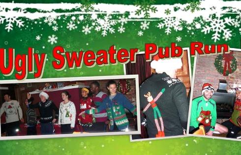 Ugly Sweater Pub Run