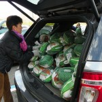 Turkey Ride Donates Over 250 Birds to the Human Needs Food Pantry