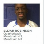 New Jersey's Player of the Year: Montclair Quarterback Elijah Robinson