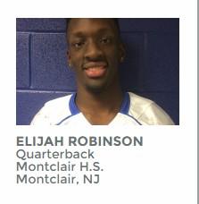 New Jersey's Player of the Year: Montclair Quarterback Elijah Robinson