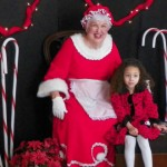 Mrs. Claus Hold Court at Bloomfield's Oakeside Mansion