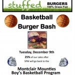 Eat At STUFFED Tonight and Support MHS Basketball