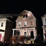 Montclair Fire Dept. Battle Blaze on Forest Street