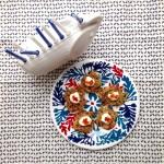Japanese Yam Latkes with Nori and Chili for Hanukkah