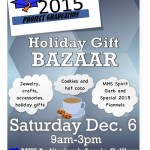 Project Graduation Holiday Gift Bazaar Today!