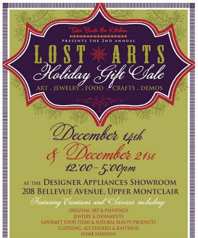 Lost Arts Holiday Gift Sale