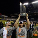 Take a Selfie with 2014 World Series Trophy at Yogi Berra Museum and Learning Center Sunday