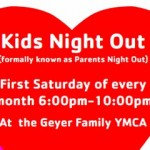 Valentine's Kids Night Out at Geyer Family YMCA