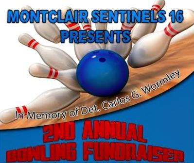 Detective Carlos G. Wormley Bowling Fundraiser