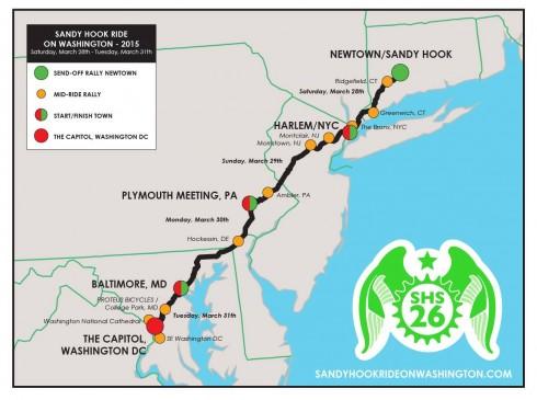 The Sandy Hook Ride on Washington
