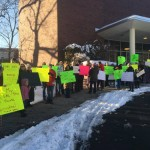 Rally Raises Support for Montclair's Paraprofessionals
