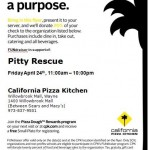 Pizza Night to Help Pups at Pitty Rescue