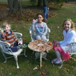 Easter Starts Early With Hunt for Eggs at Freeman Gardens, Glen Ridge