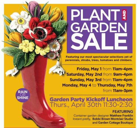 Van Vleck Plant and Garden Sale
