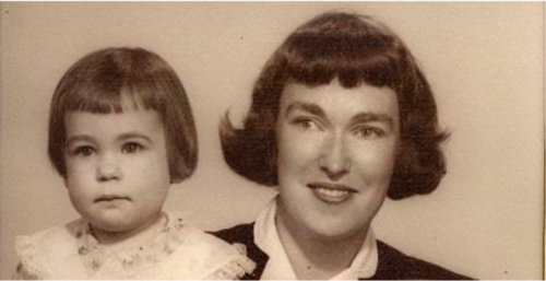 anne-marie with mom