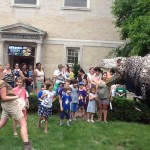 Glen Ridge Native and Founder of Field Station: Dinosaurs Visits Glen Ridge Public Library Today