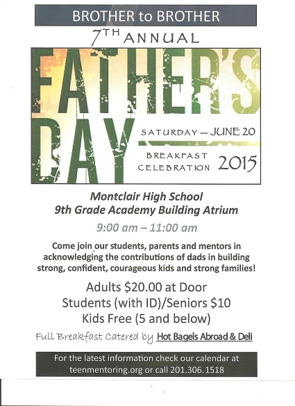 7th Annual Father's Day Breakfast and Awards Program ...