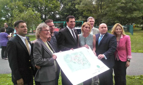 Brookdale Park playground project