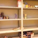 The Human Needs Food Pantry's Shelves Are Empty