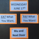 Seen Around Town: Eat What You Want, Pay What You Want