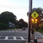 Pedestrian Safety Update: Incidents Down Slightly; New Crossing Light Installed by Walnut Street