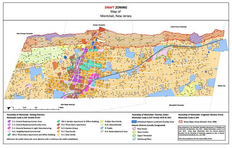 Montclair Planning Department Creates Draft Online Zoning Map | Baristanet