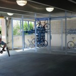 Montclair Bike Depot Offers Safe Storage For Commuters at Bay Street Station