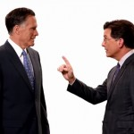 Mitt Romney In Promos For The Late Show With (Montclair's) Stephen Colbert