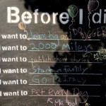 Before I Die I Want To…….