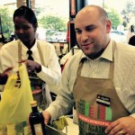 Bloomfield Mayor Michael Venezia Bagged for Hunger at Brookdale ShopRite