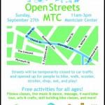 Open Streets Montclair is Today!!!