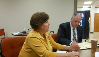 Montclair Township Planning Director Janice Talley and Acting Township Manager Tim Stafford