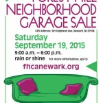 A Great Weekend For A Garage Sale (and Sidewalk Sale!)