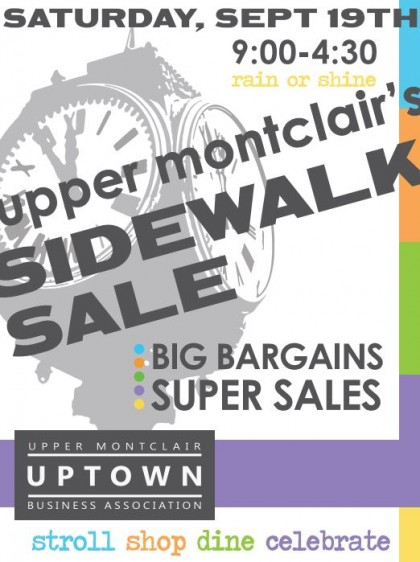 Upper Montclair Sidewalk Sale