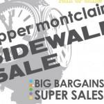 Upper Montclair Sidewalk Sale this Saturday