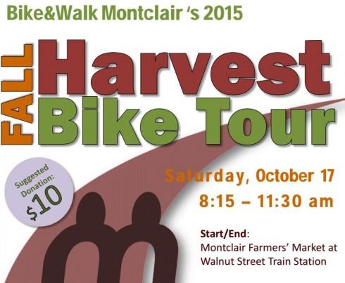 Bike&Walk Montclair's Fall Harvest Bike Tour