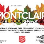 Great Food For a Good Cause at the Fourth Annual Montclair Fall Food Classic