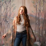 Montclair Walks The Runway at Anthropologie Holiday Fashion Show