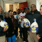 Montclair Police Officers Help Put Food on the Table For Thanksgiving