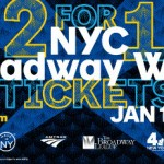 2 For 1 Tickets for NYC Broadway Week — On Sale Tomorrow!