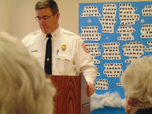 Fire Chief John Herrmann