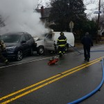 No One Injured in Vehicle Fire on Grove Street in Montclair