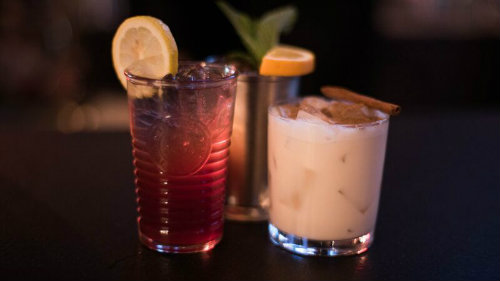 The Colbert Bump, Daneyko's Cup and Mooby's Milk Punch Cocktails